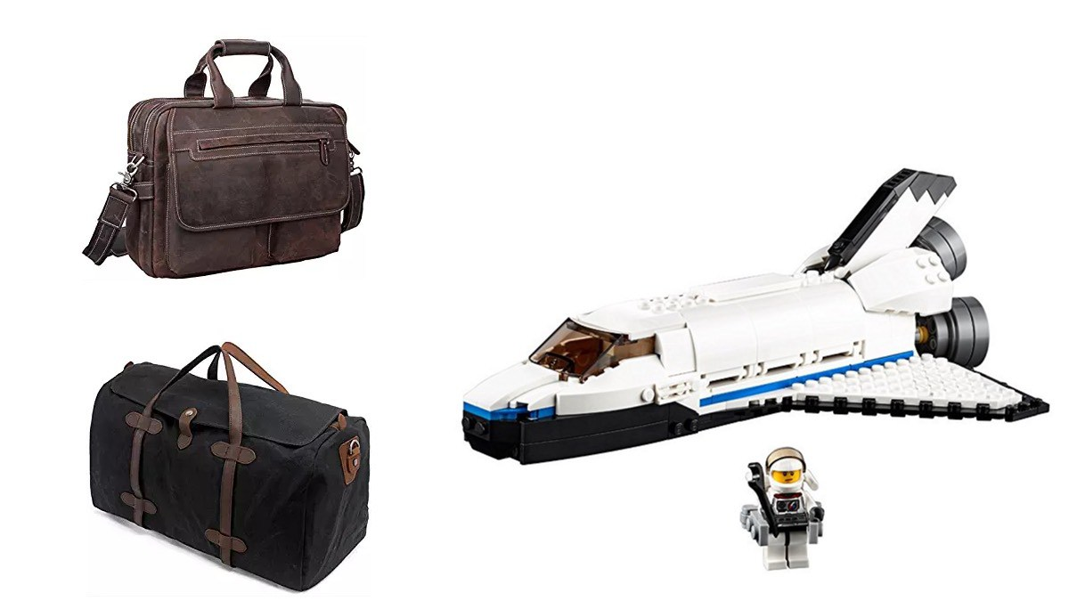 Geek Daily Deals 0612218 tote bags lego space shuttle