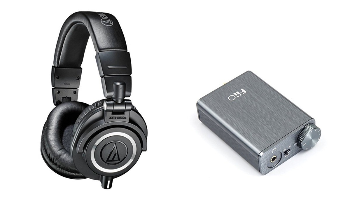 Geek Daily Deals 061318 audio technica headphones fiio amp