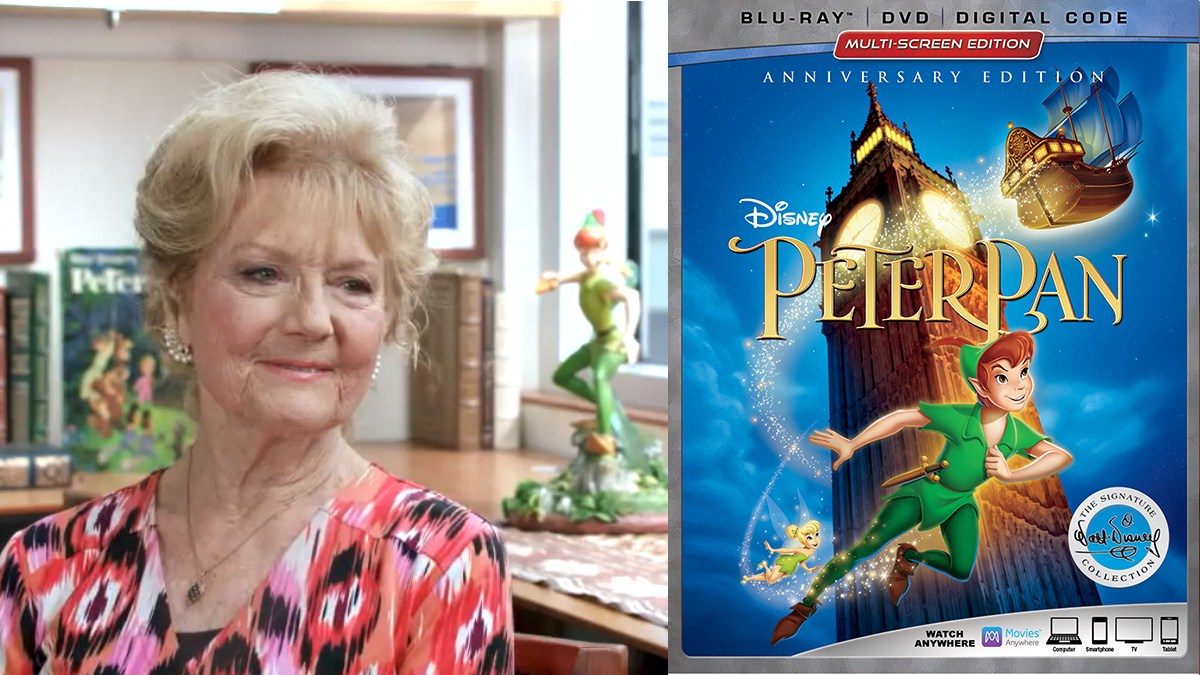Kathryn Beaumont, Peter Pan 65th Anniversary Edition Blu-ray