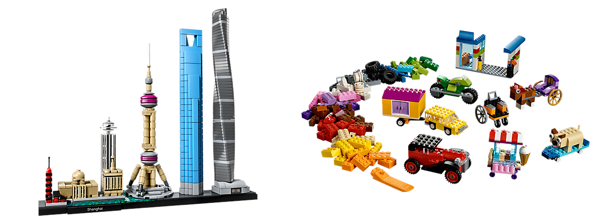 New LEGO Sets: Open-Ended and Architecture Sets