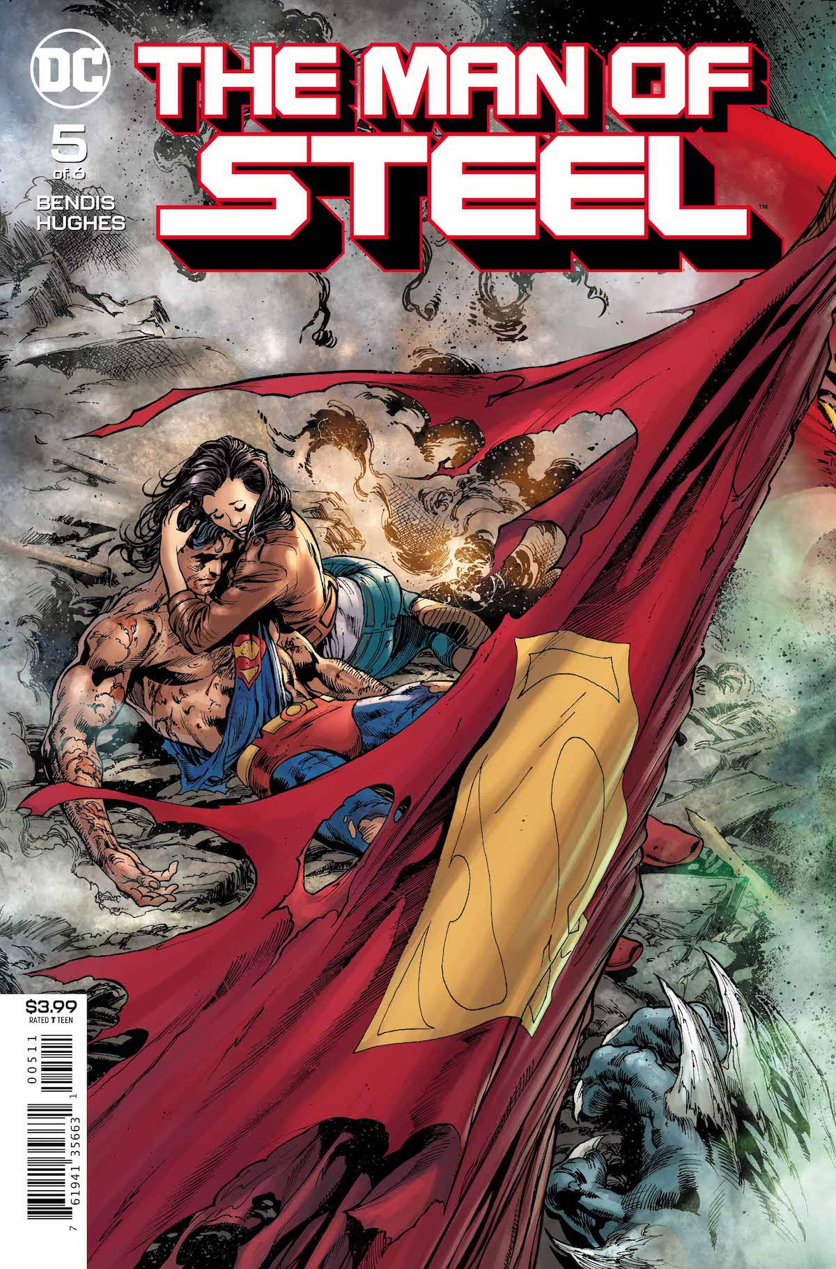 Man of Steel #5 cover