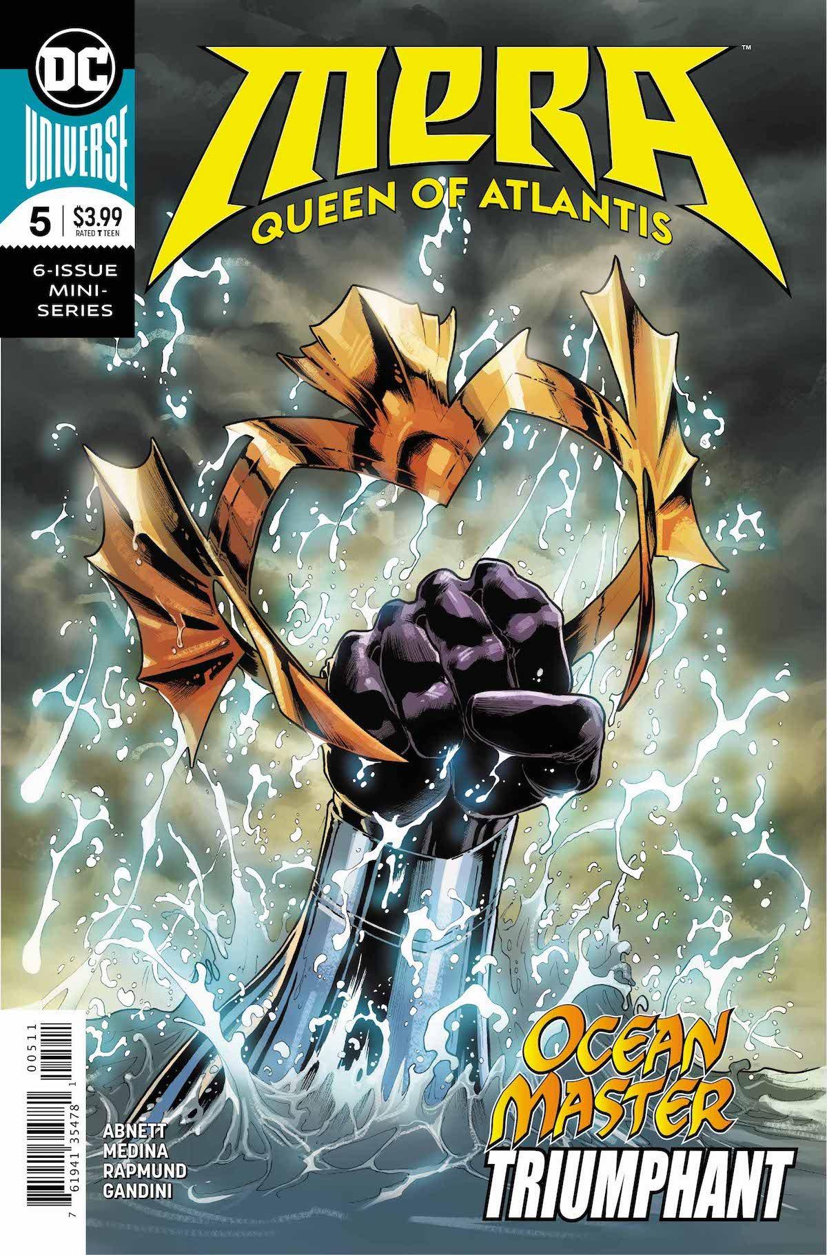 Mera Queen of Atlantis #5 cover