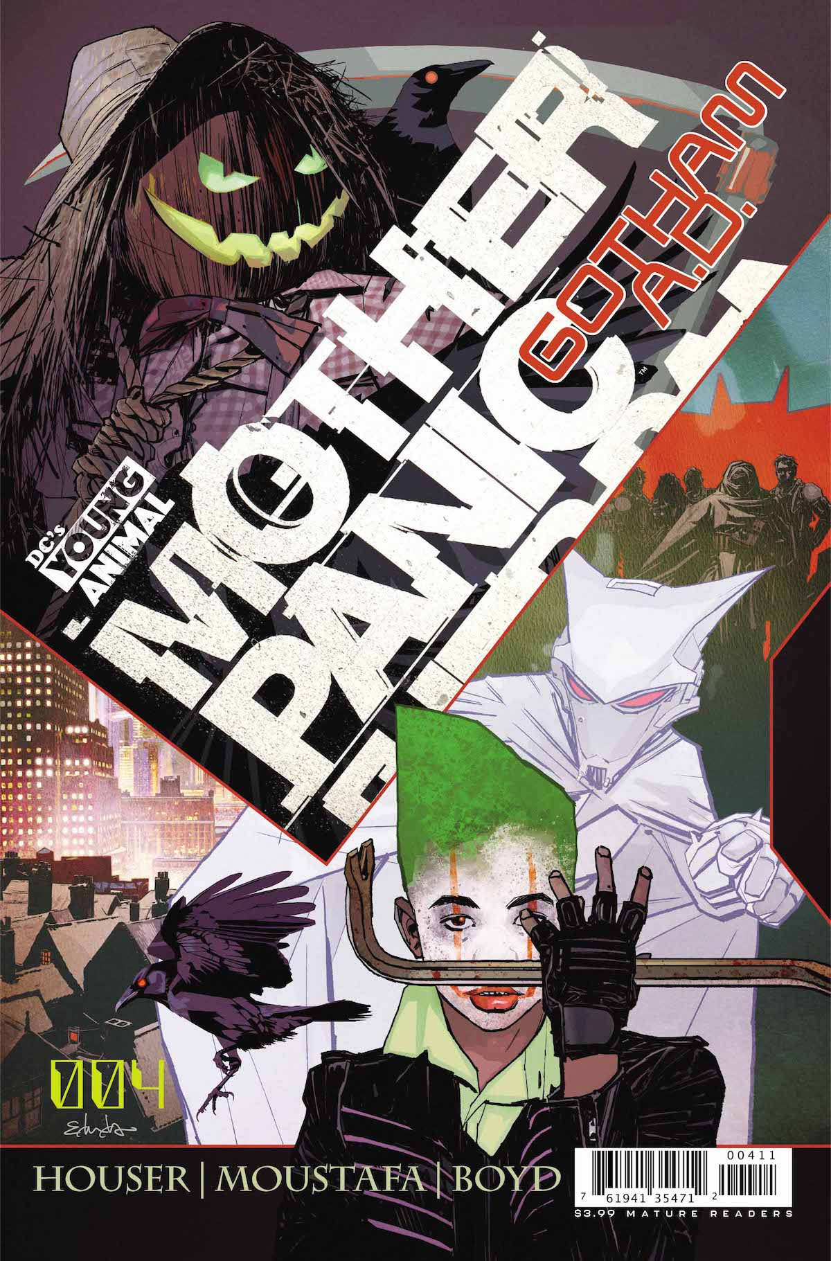 Mother Panic Gotham A.D. #4