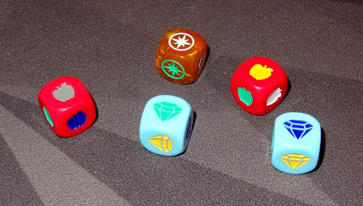 My Little Scythe dice