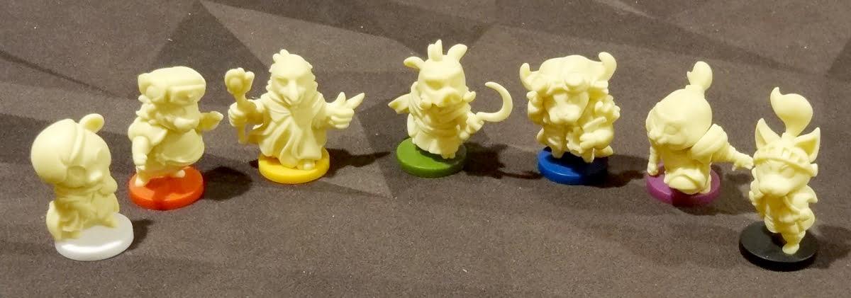 My Little Scythe figurines