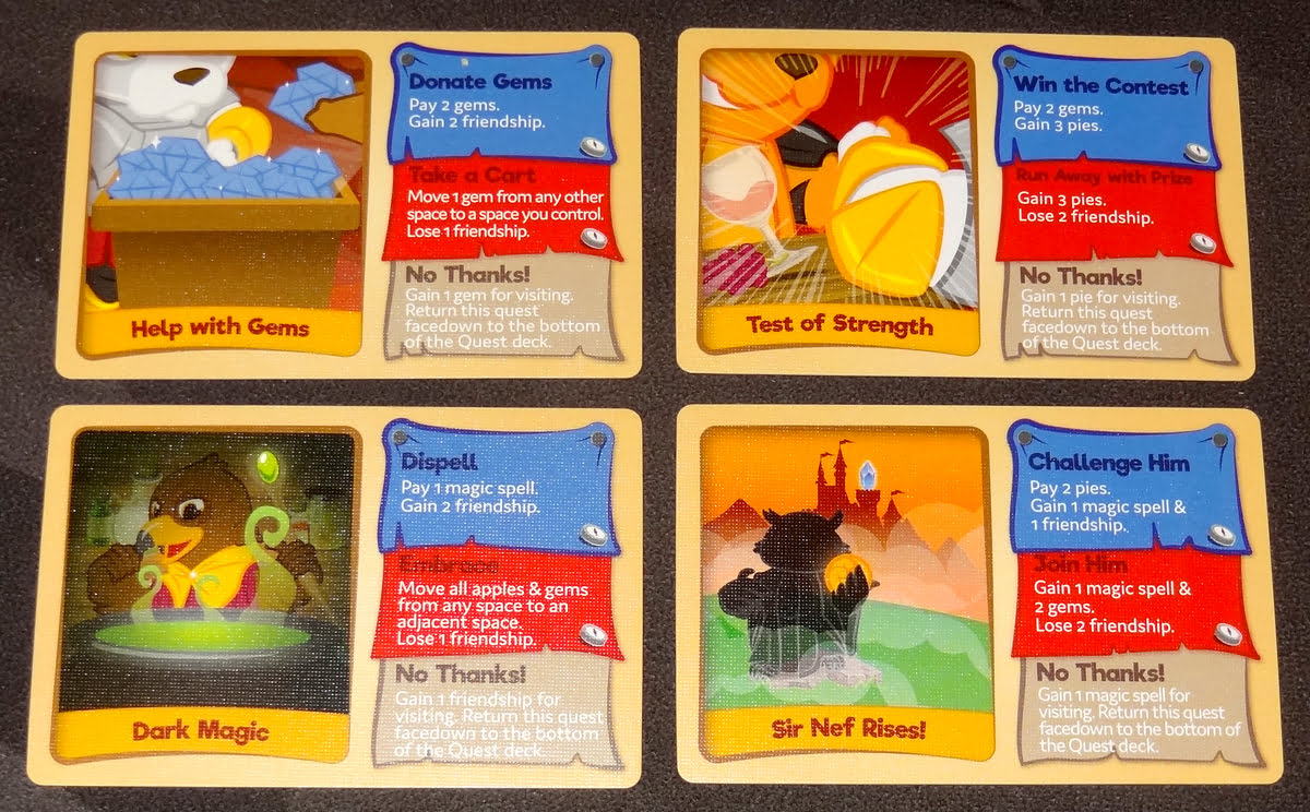 My Little Scythe quest cards