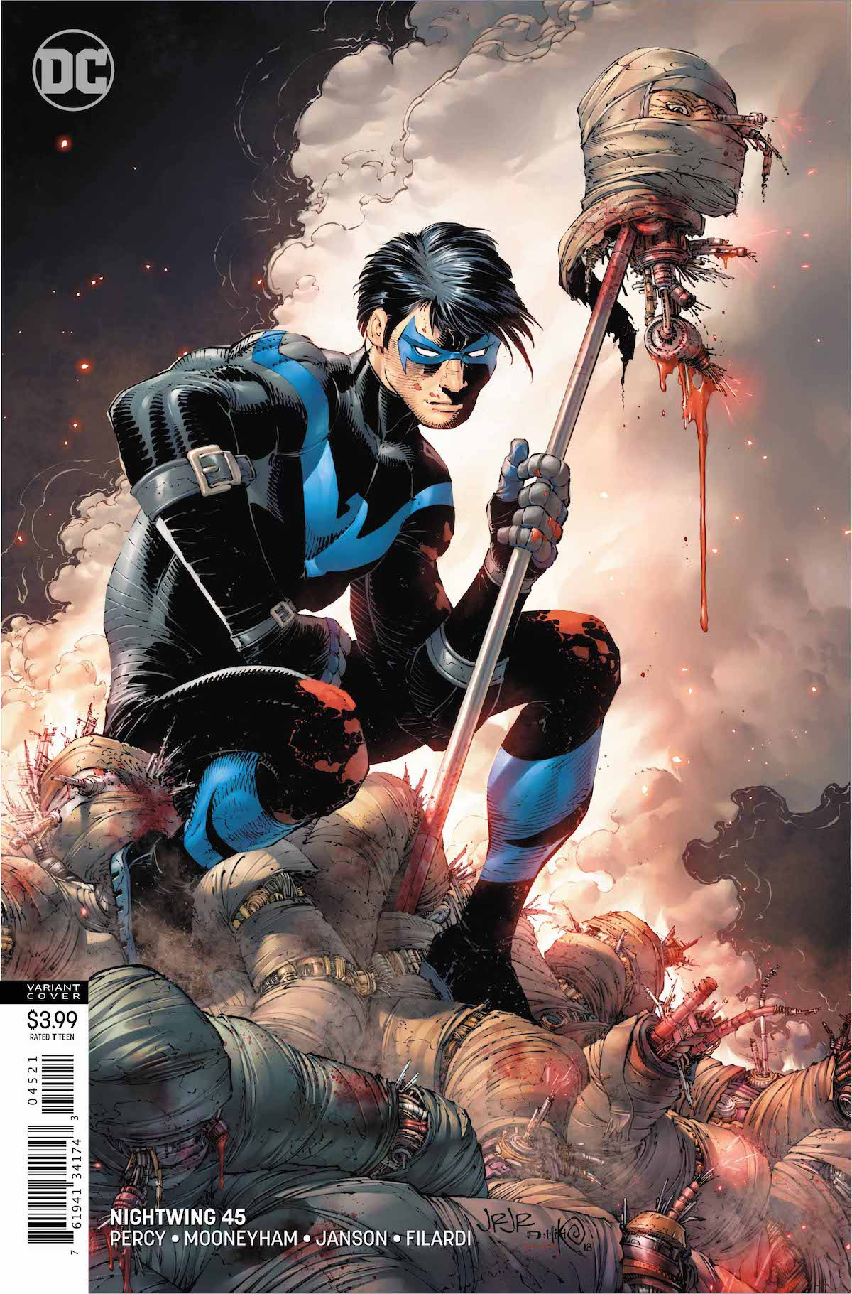 Nightwing #45 cover