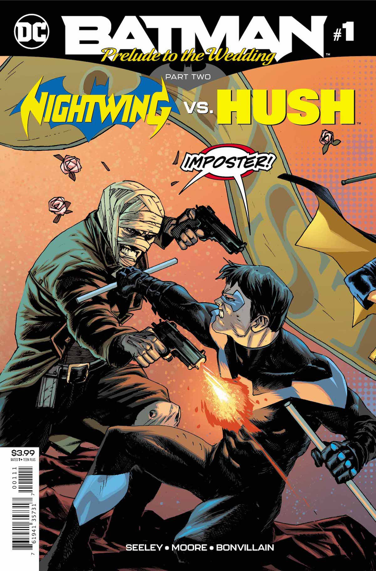 Batman Prelude to the Wedding Nightwing vs. Hush Special #1 cover