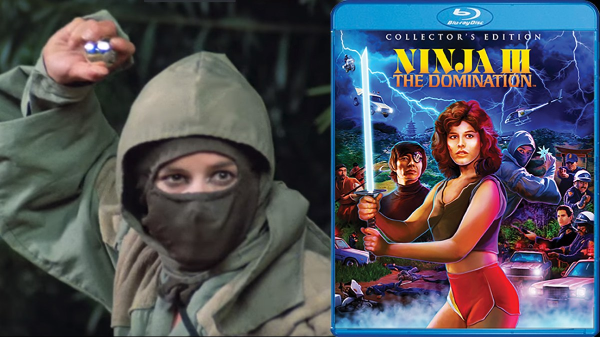 Ninja III: The Domination on Blu-ray