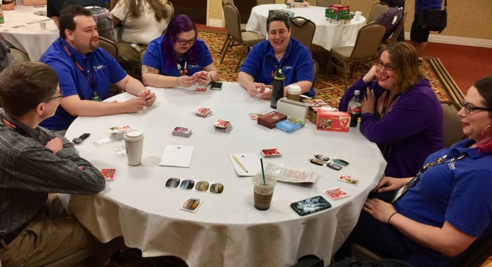 Paizo Staff and Attendees playing Channel A