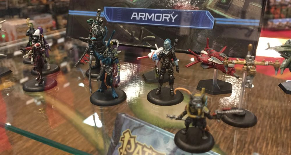 Starfinder pre-painted minis.