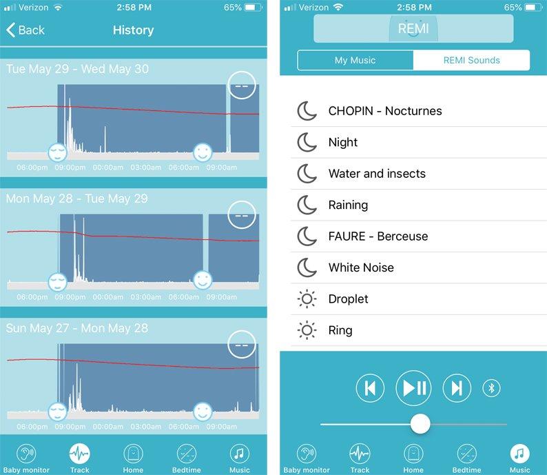 REMI Screenshots