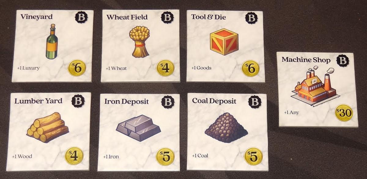 Raccoon Tycoon commodity bonus buildings