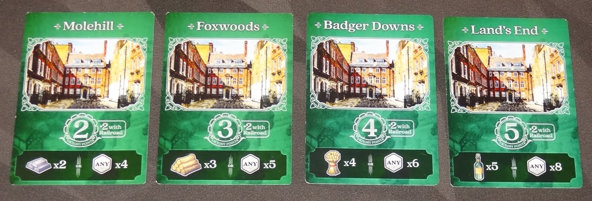 Raccoon Tycoon Town cards