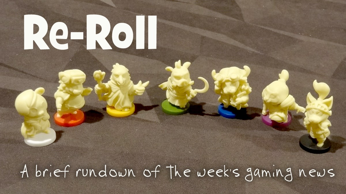 RE-Roll: My Little Scythe figurines