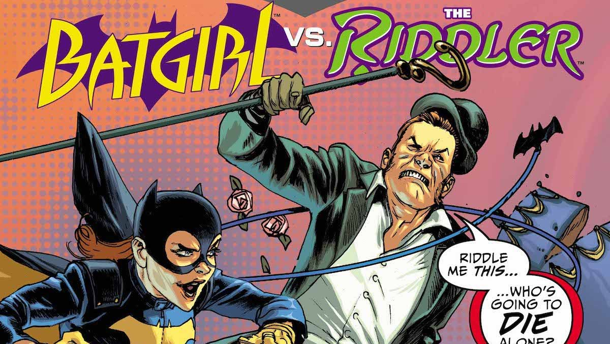 Batman Prelude to the Wedding Batgirl Vs. Riddler