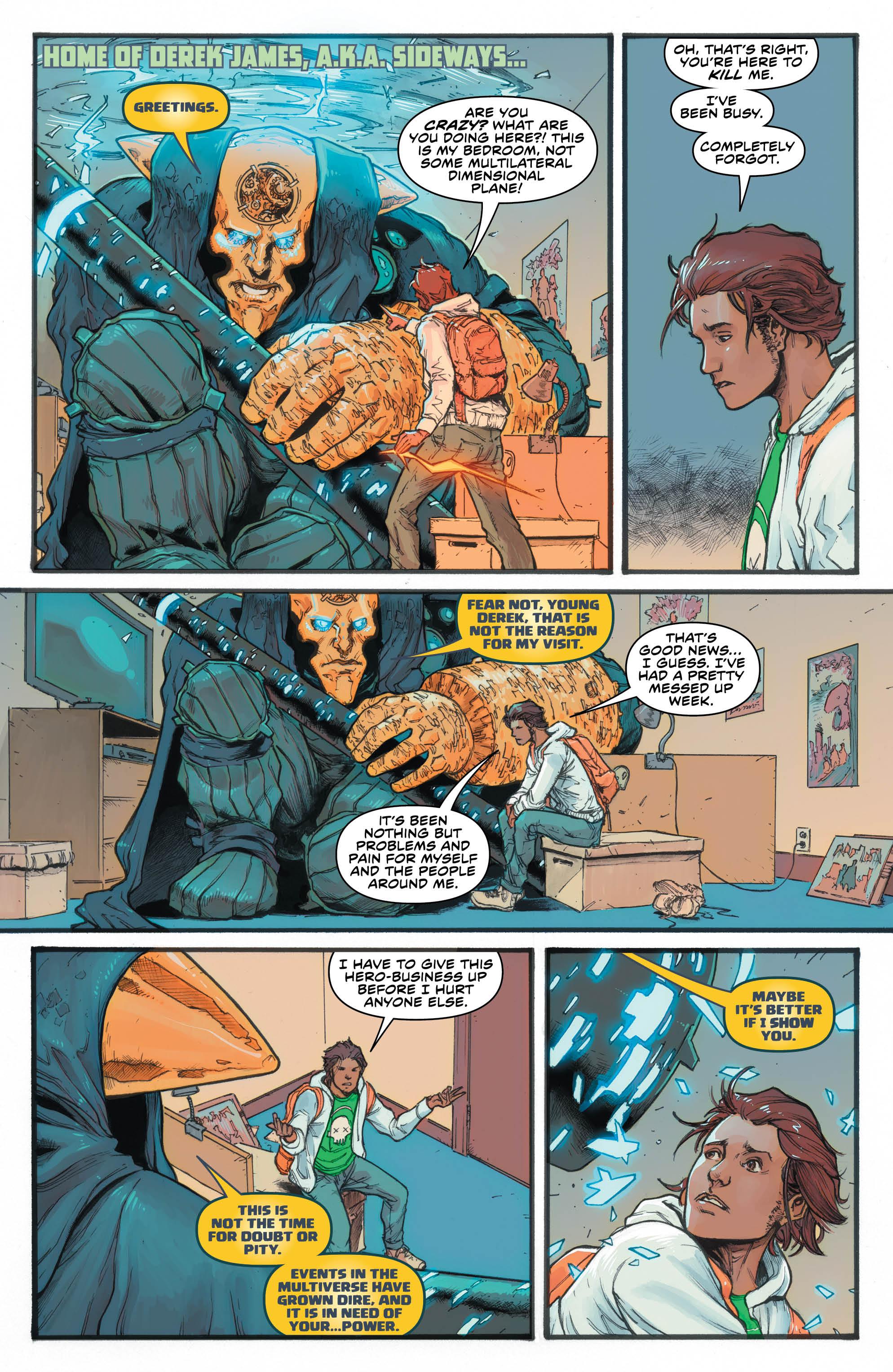 Sideways #5 page 1