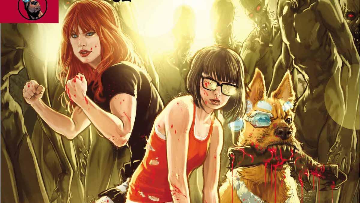 Scooby Apocalypse #26 cover