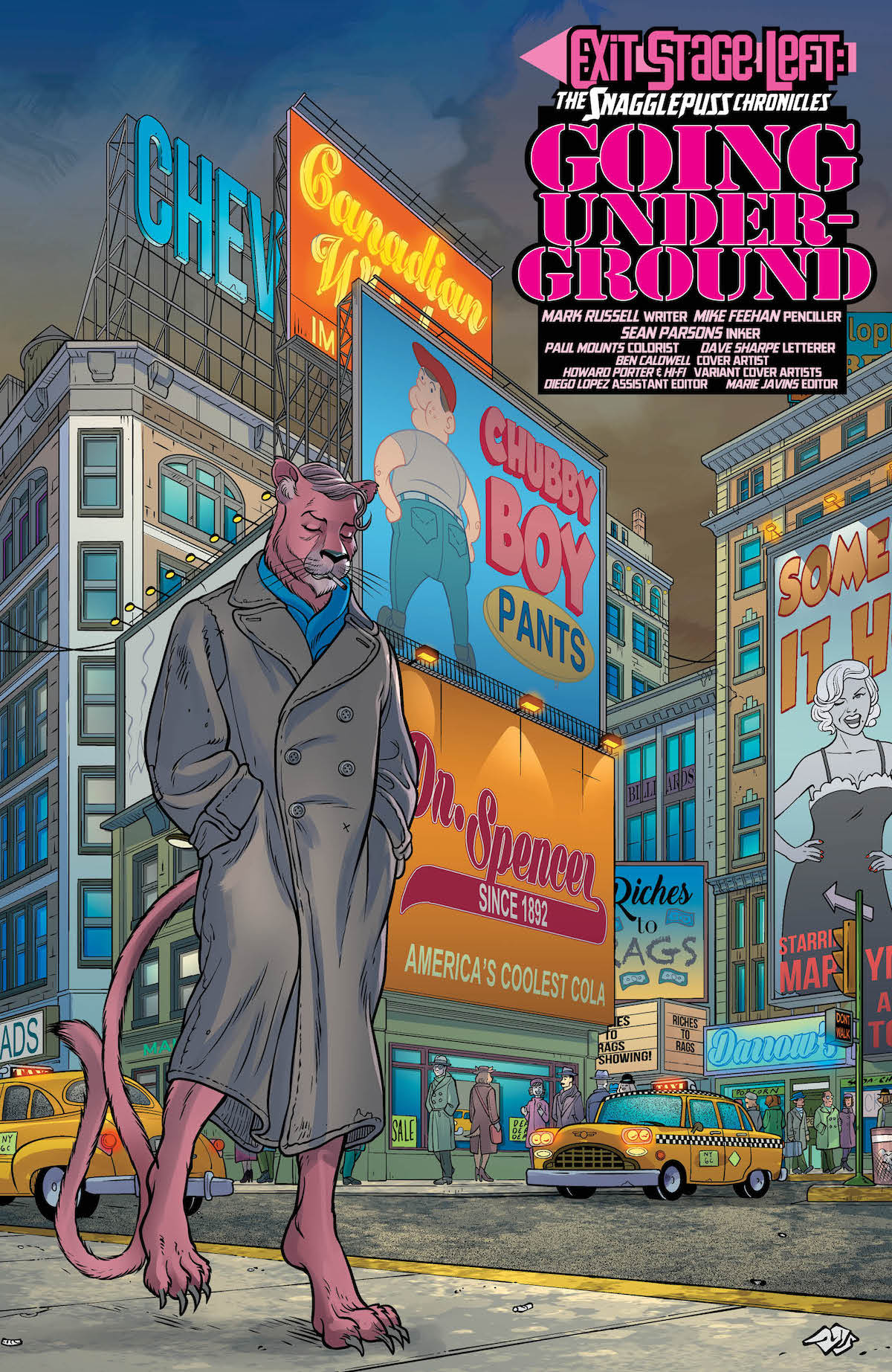Snagglepuss Chronicles #6 page 5