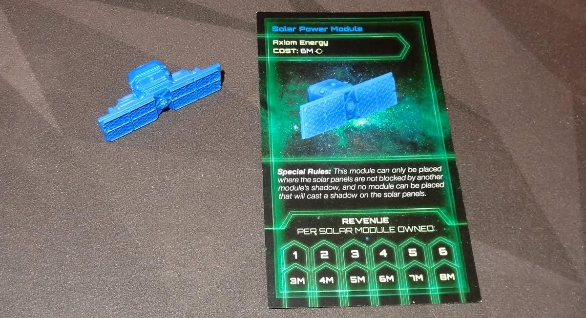 Startropolis solar panel module and card