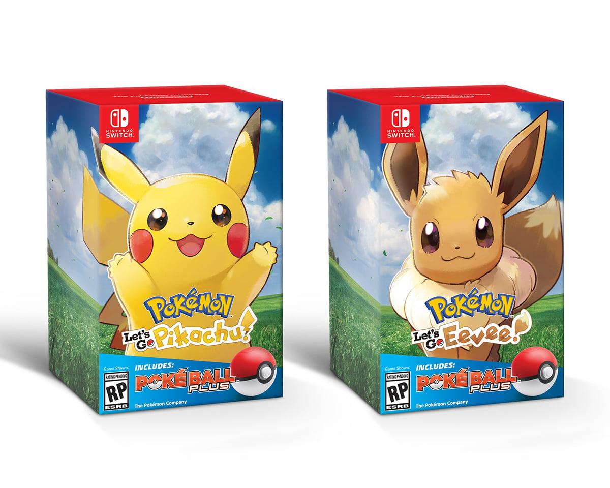 Switch Pokemon Lets Go bundle