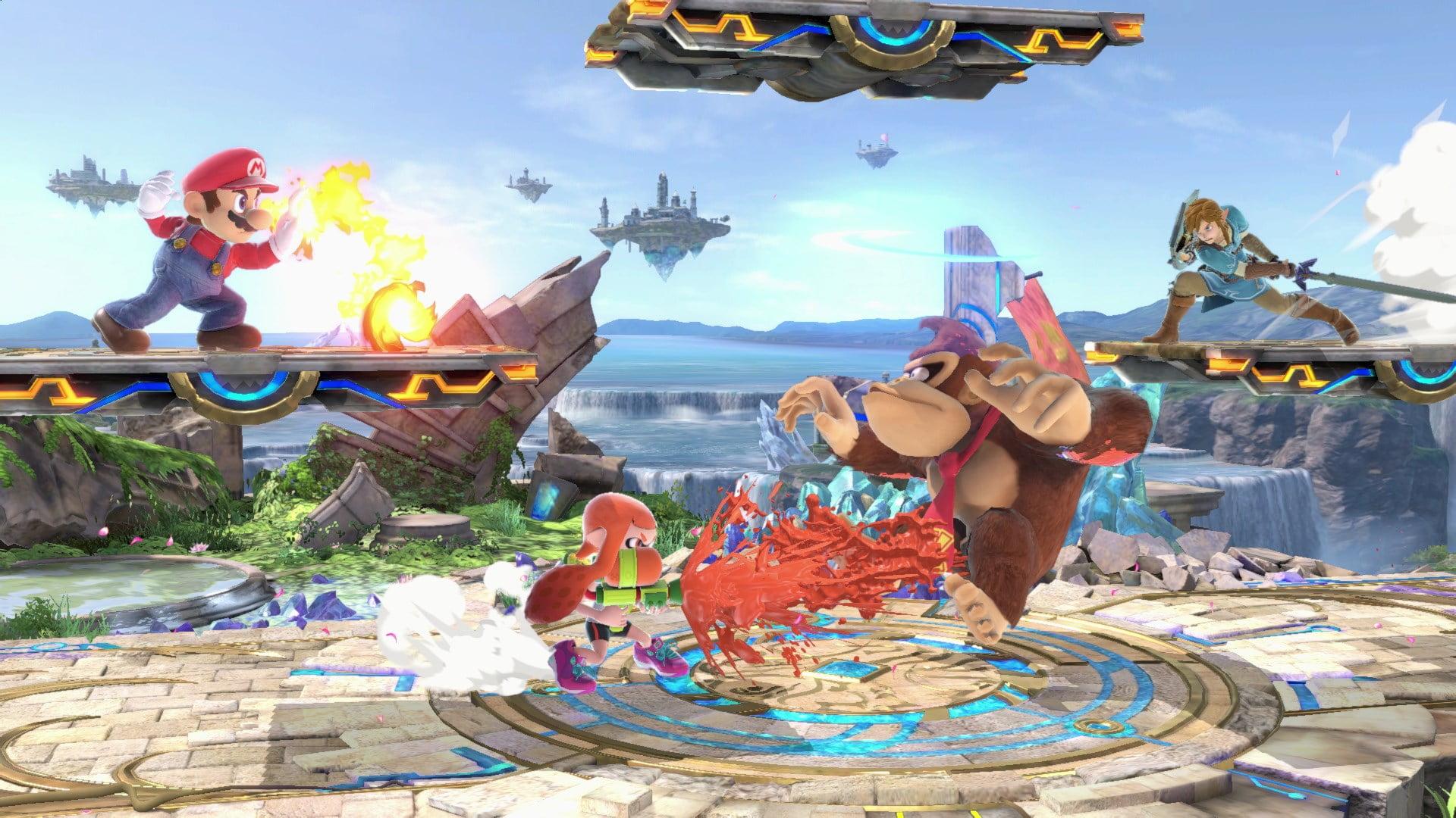 Switch Super Smash Bros Ultimate screen