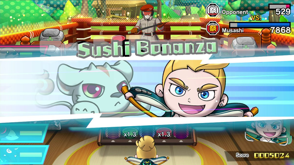 Switch Sushi Striker Bonanza
