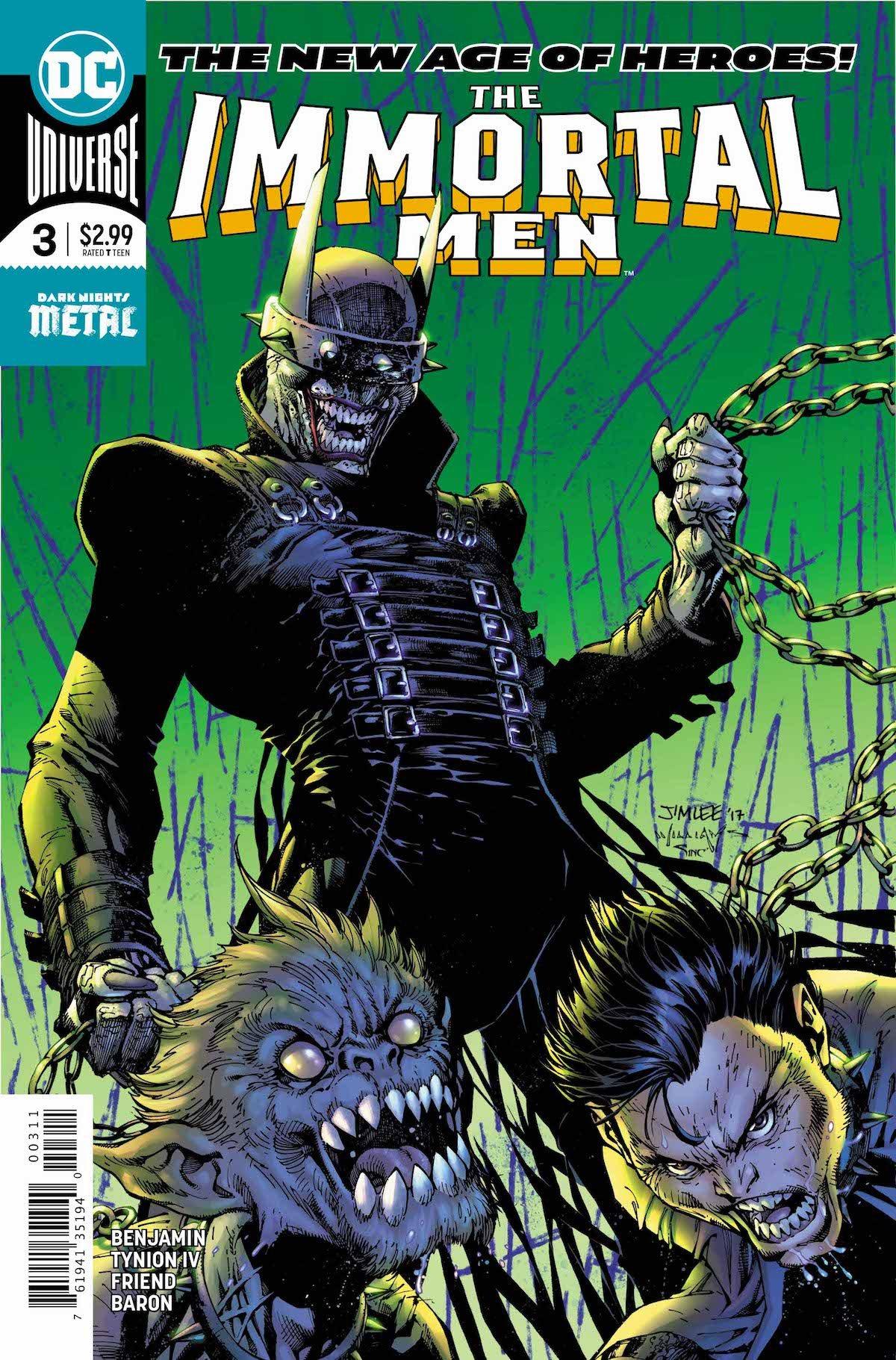 Immortal Men #3 cover