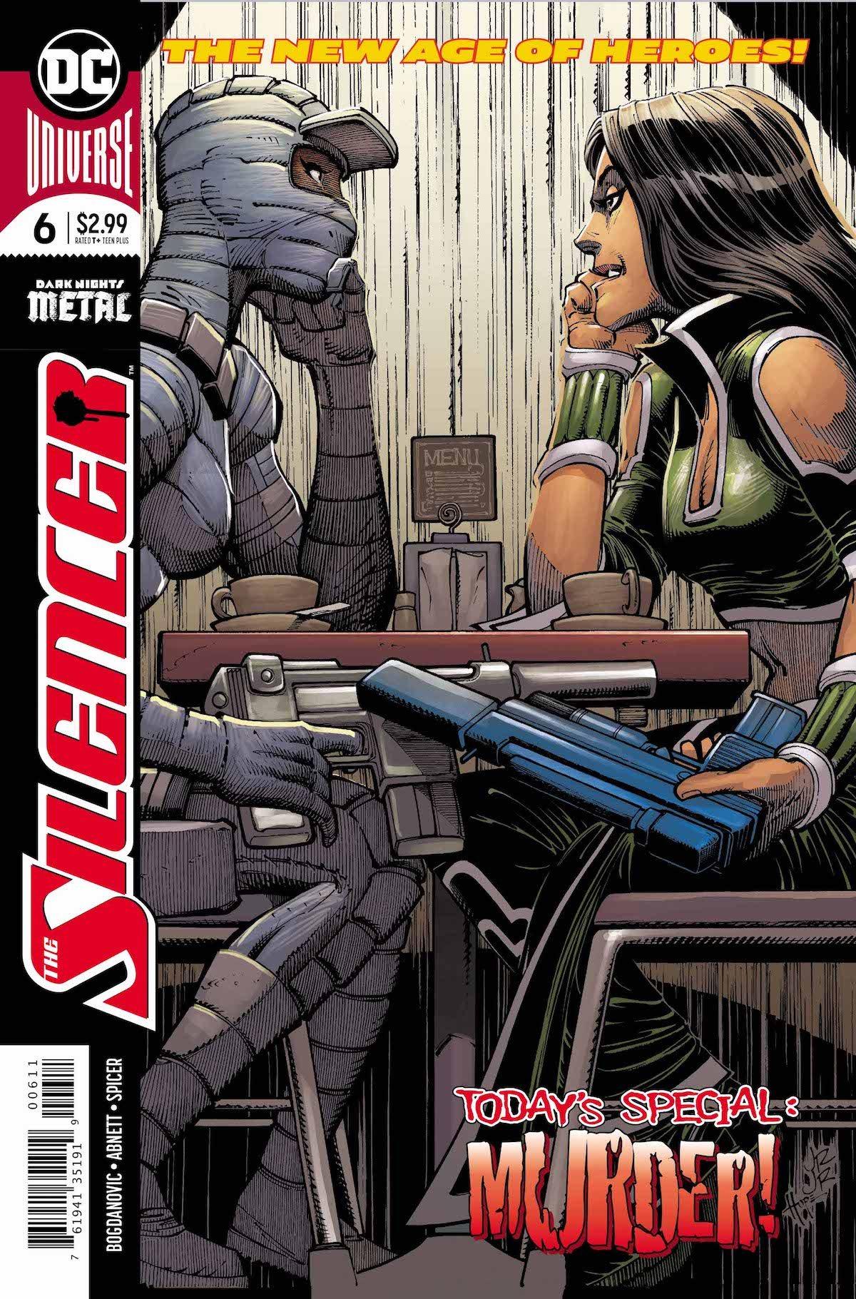 Silencer #6 cover