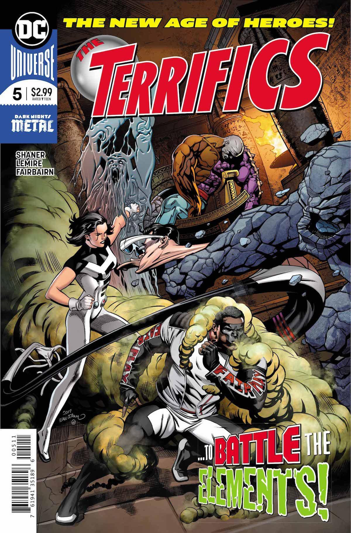 The Terrifics #5 cover