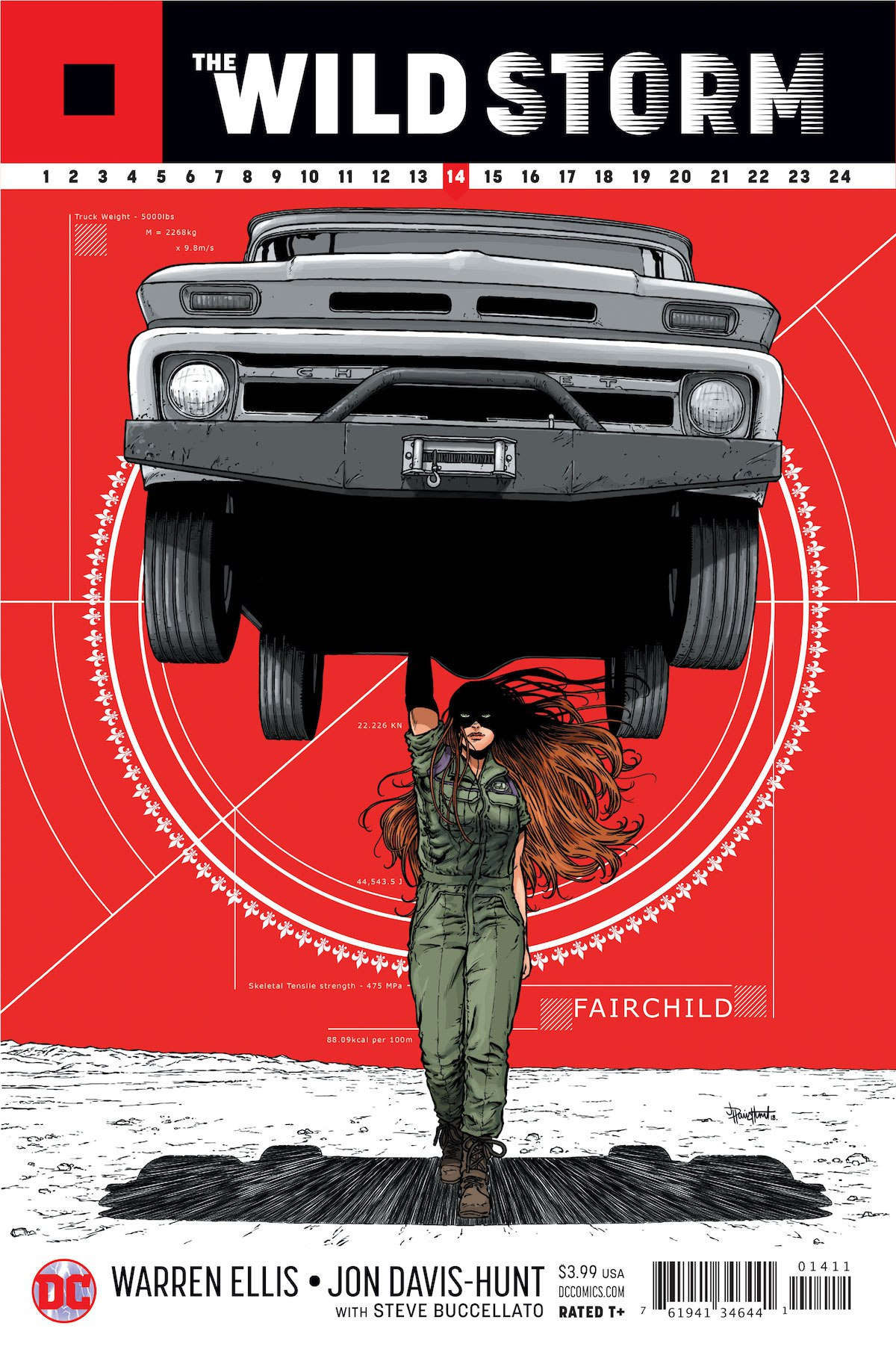 The Wild Storm #14 cover