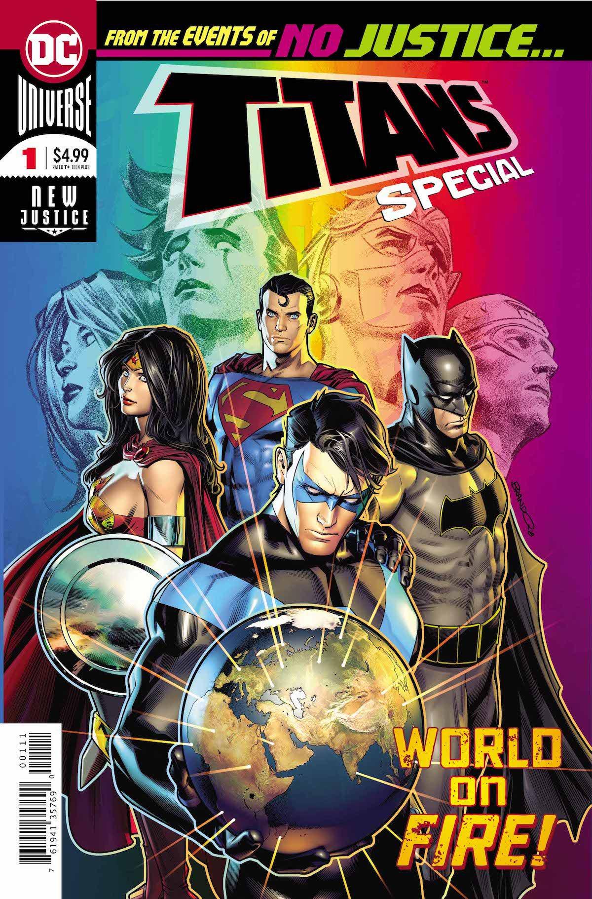 Titans Special #1 cover