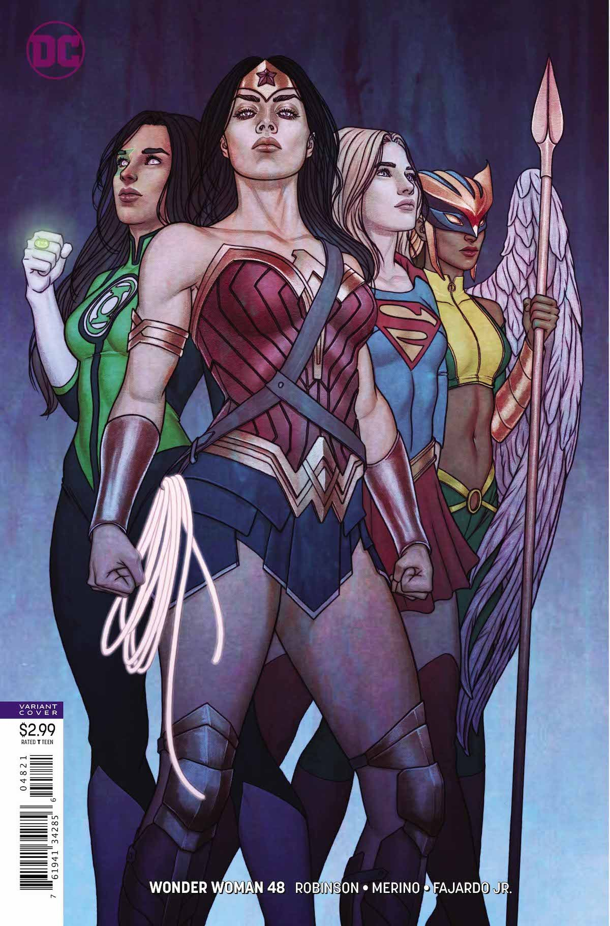 Wonder Woman #48 variant cover