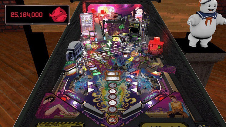 Ghostbusters Stern pinball for Nintendo Switch