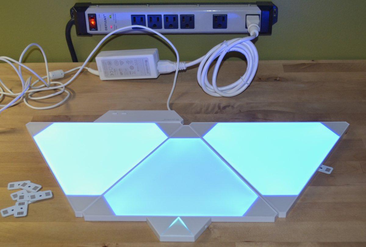 Nanoleaf light panels review