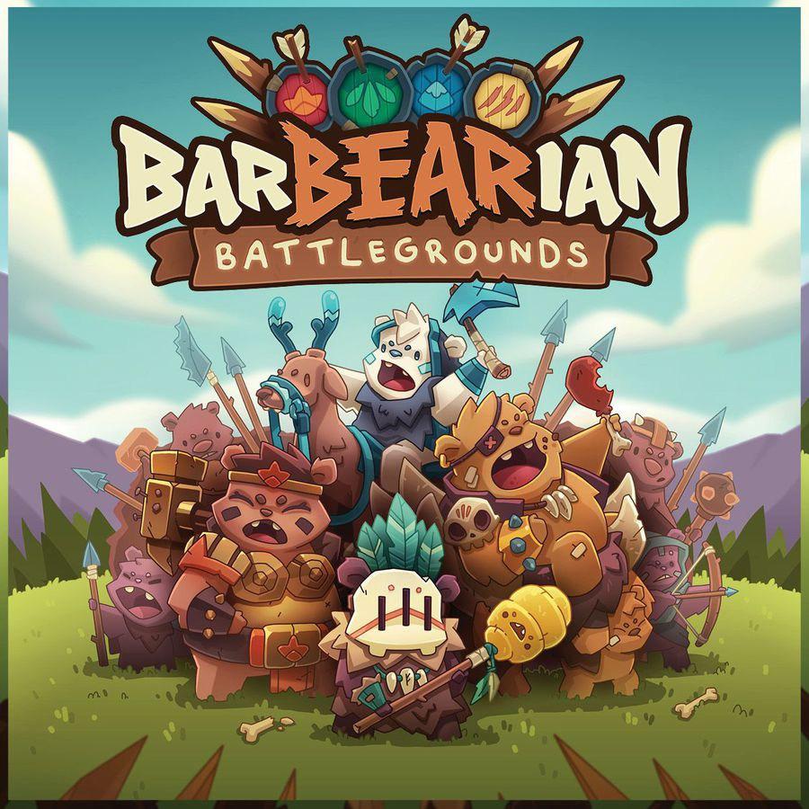BarBEARian Battlegrounds cover