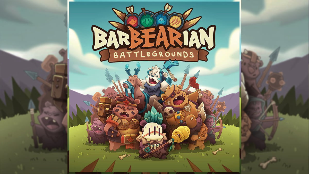 BarBEARian Battlegrounds cover