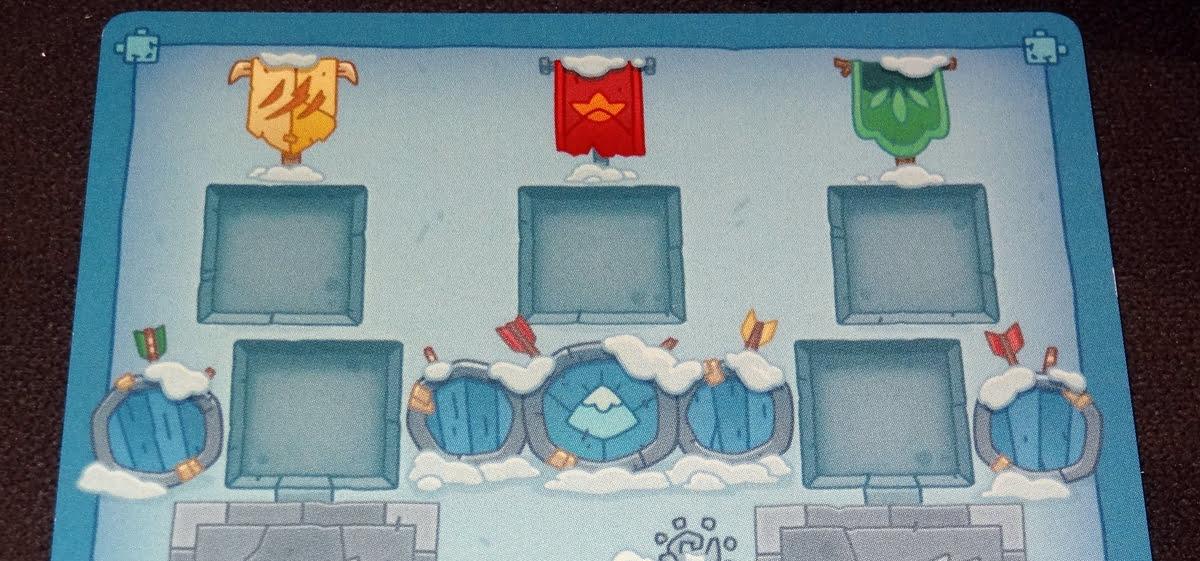 BarBEARian Battlegrounds player mat top