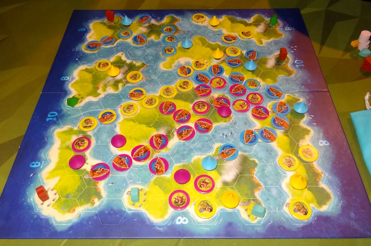 Blue Lagoon 3-player game