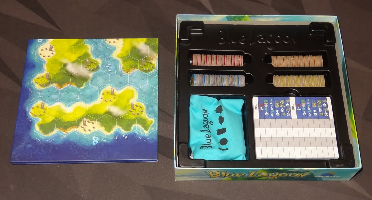 Blue Lagoon box insert