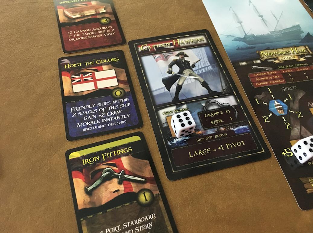 Captain Skill Cards