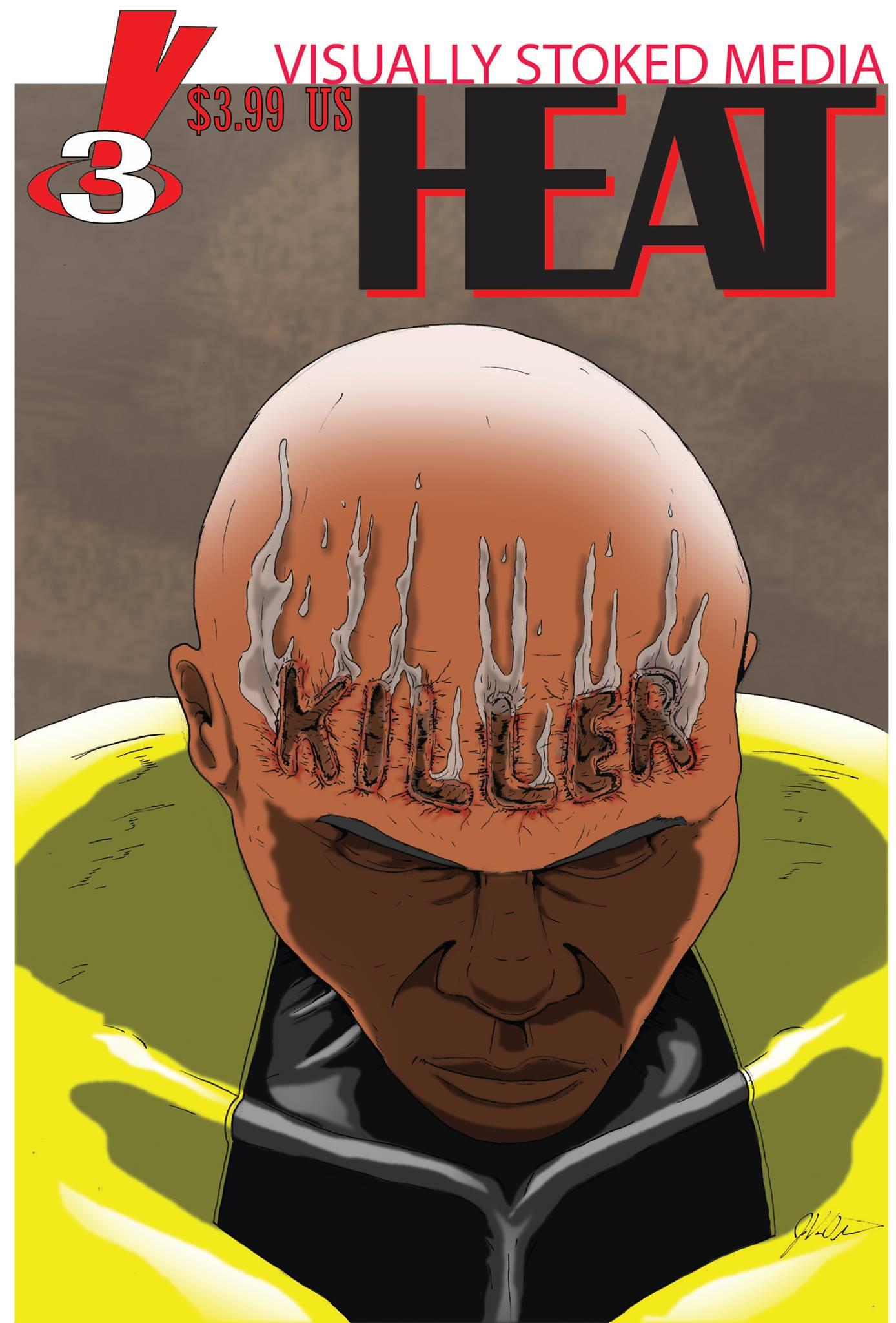 Heat black teen superhero