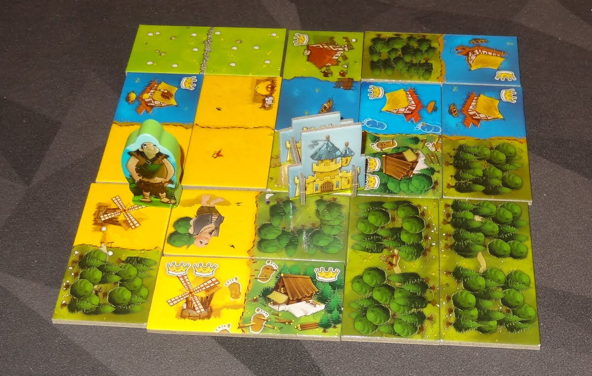 Kingdomino: Age of Giants finished kingdom