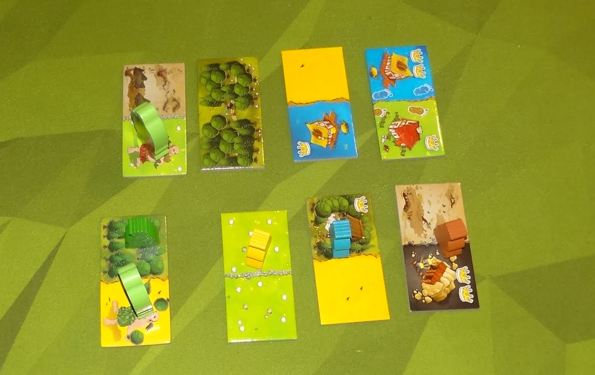 Kingdomino: Age of Giants tile selection