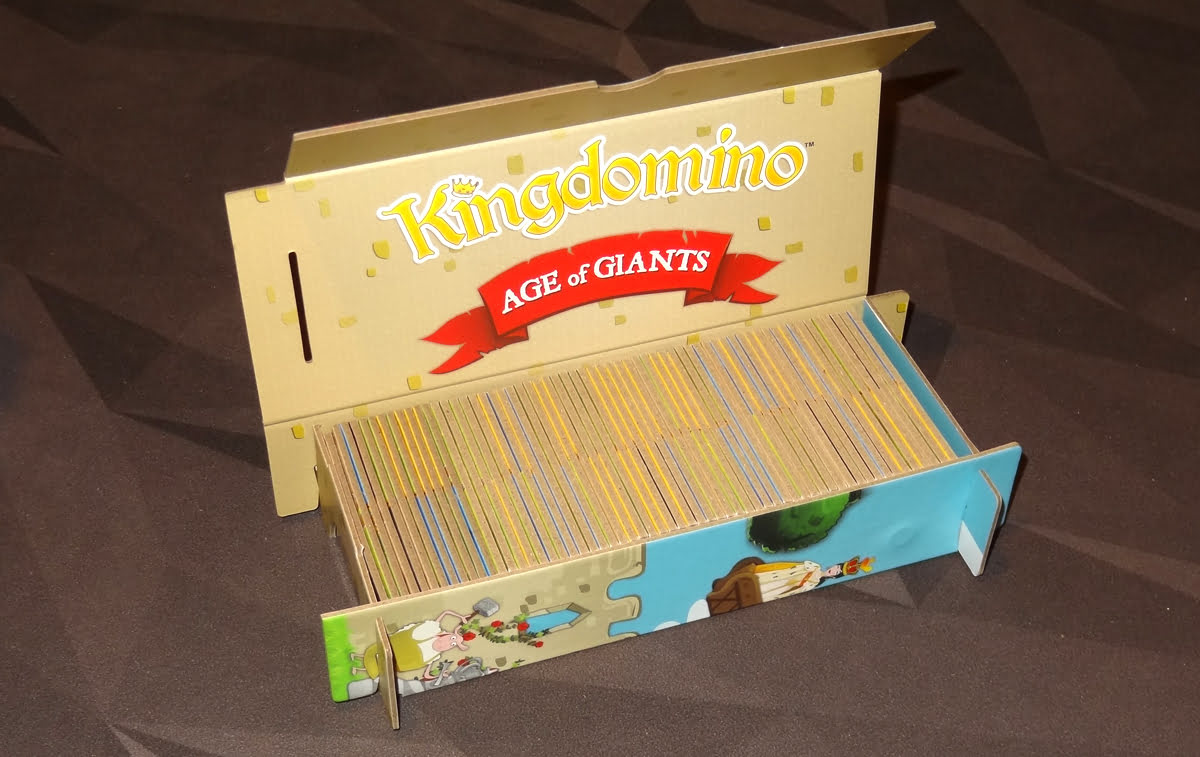 Kingdomino: Age of Giants domino tower