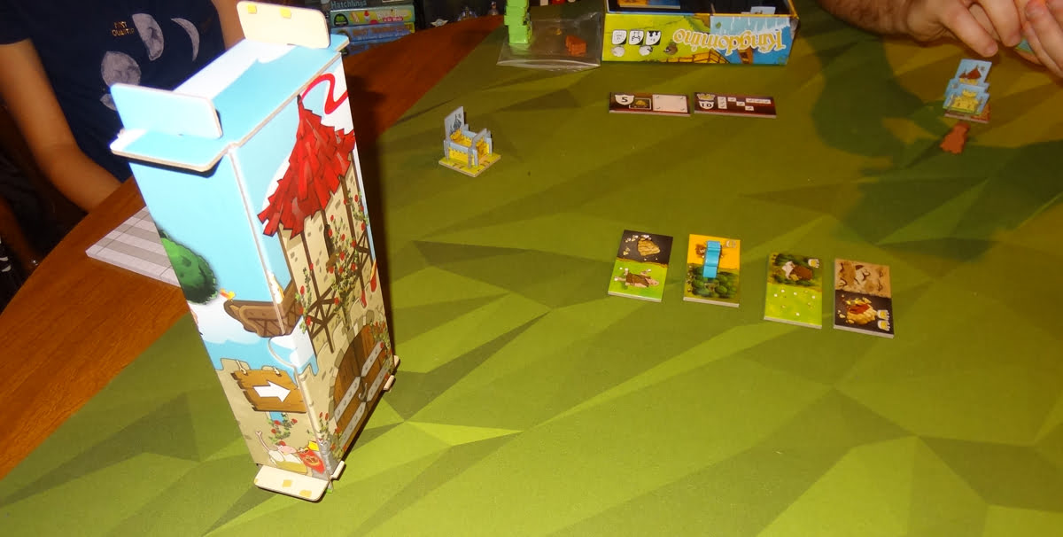 Kingdomino: Age of Giants ready to play