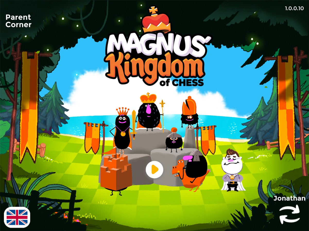 Magnus Kingdom title screen