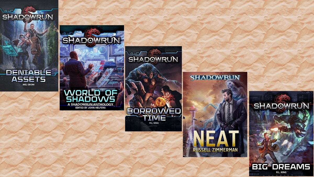 Shadowrun Novels For Cyberpunk Fans