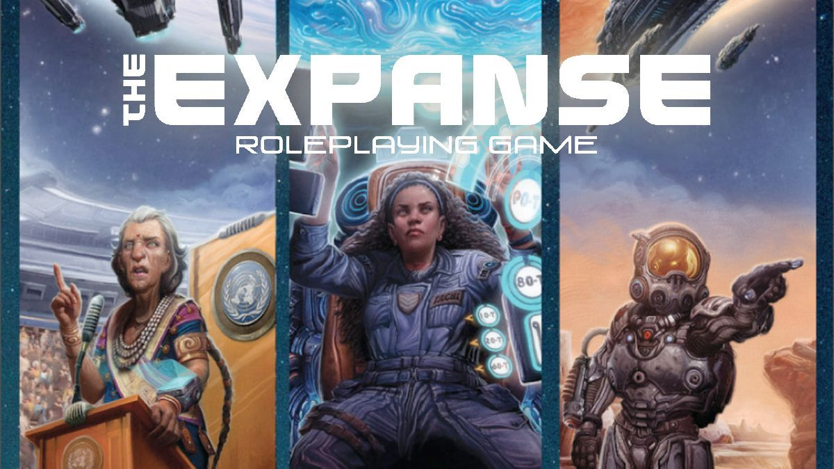 The Expanse RPG on Kickstarter