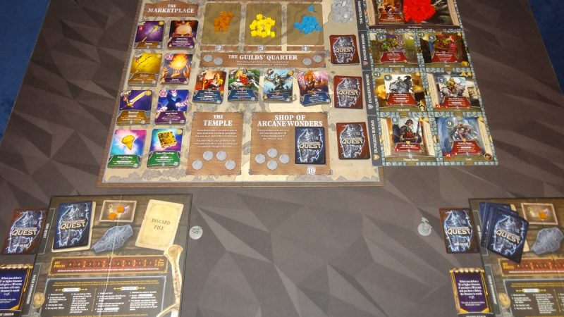 Thunderstone Quest 2-player setup